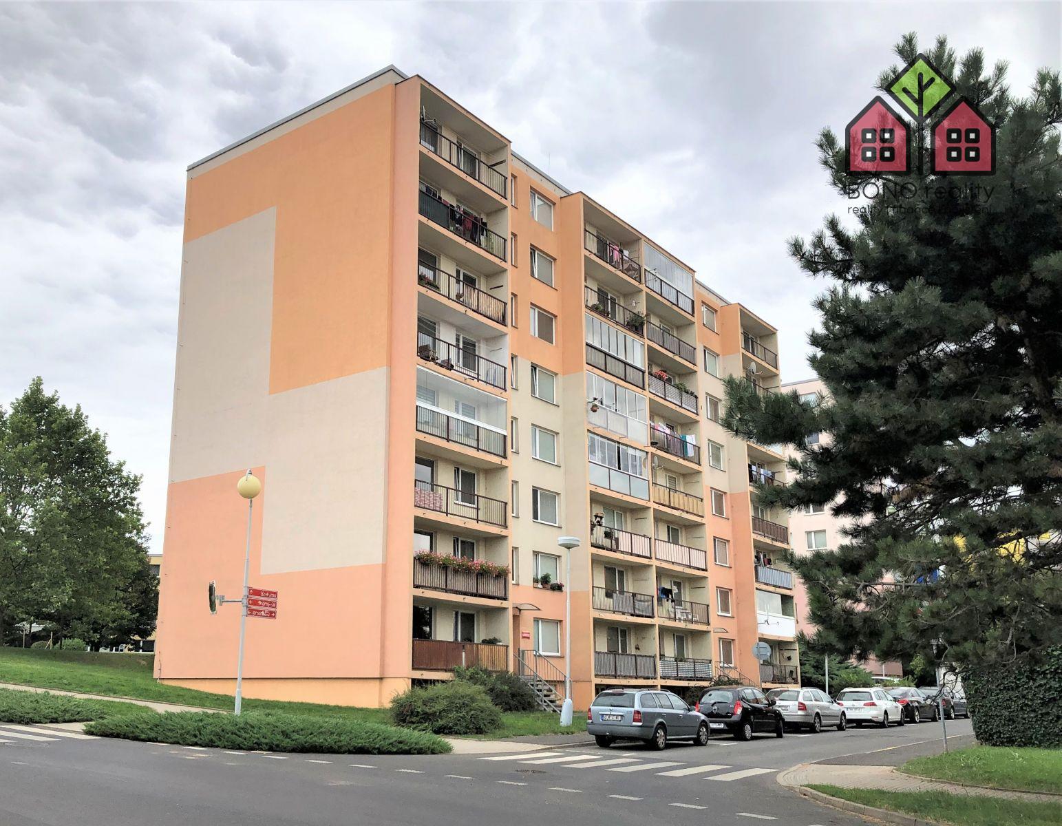 Pronájem 2+kk, OV, 40 m2, sklep, obec Litoměřice, ulice Kosmonautů