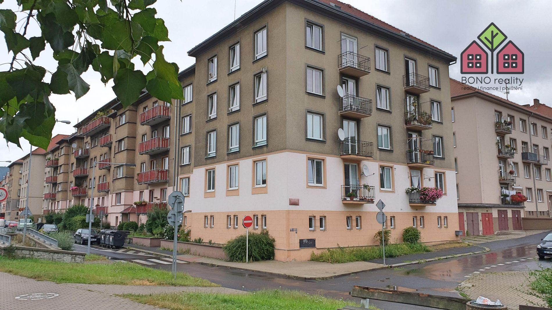 Byt OV, 3+kk, 71 m2, balkon, sklep, Střekovské nábřeží, Ústí n. L.