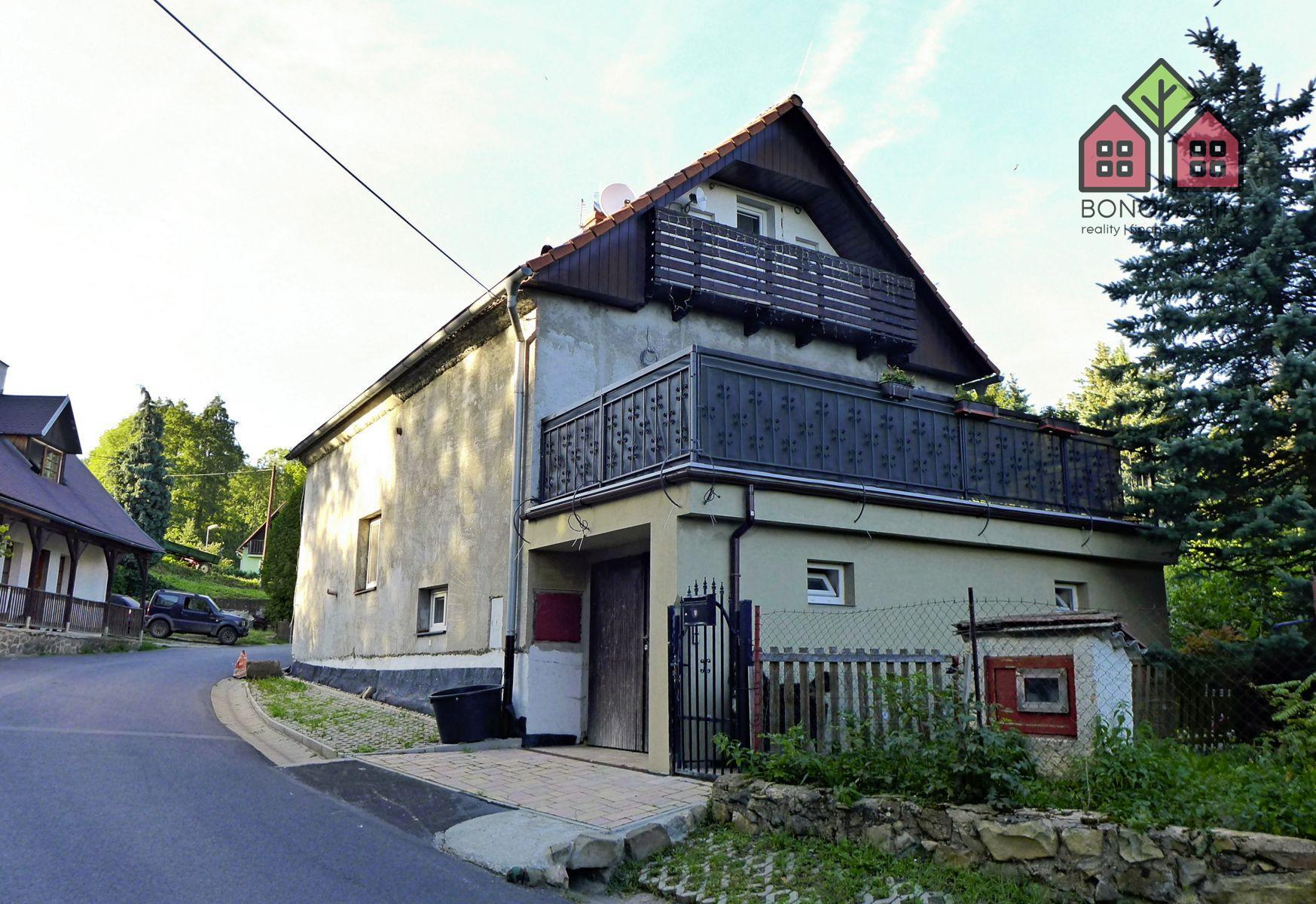 RD 4+1, pozemek 428, garáž, zahrádka, bydlení i rekreace, okres Litoměřice, obec Hlinná - část Lbín