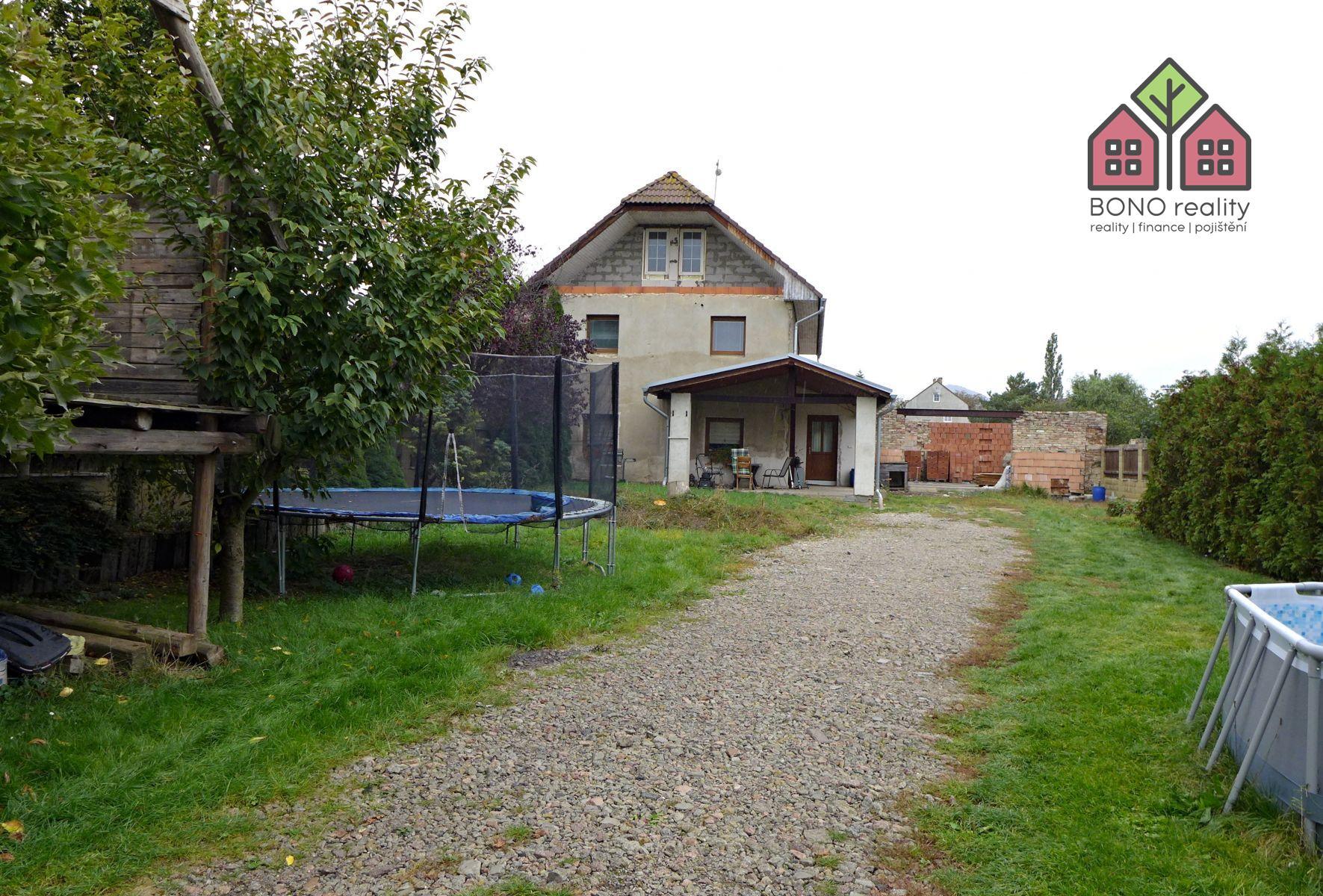 RD 2+1, 937 m2, zahrada, možnost rozšíření dispozice, okres Litoměřice, obec Lukavec u Lovosic