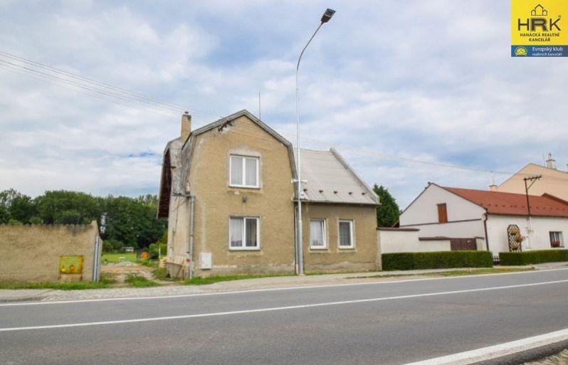 Prodej rodinného domu v Olomouci-Chomoutově