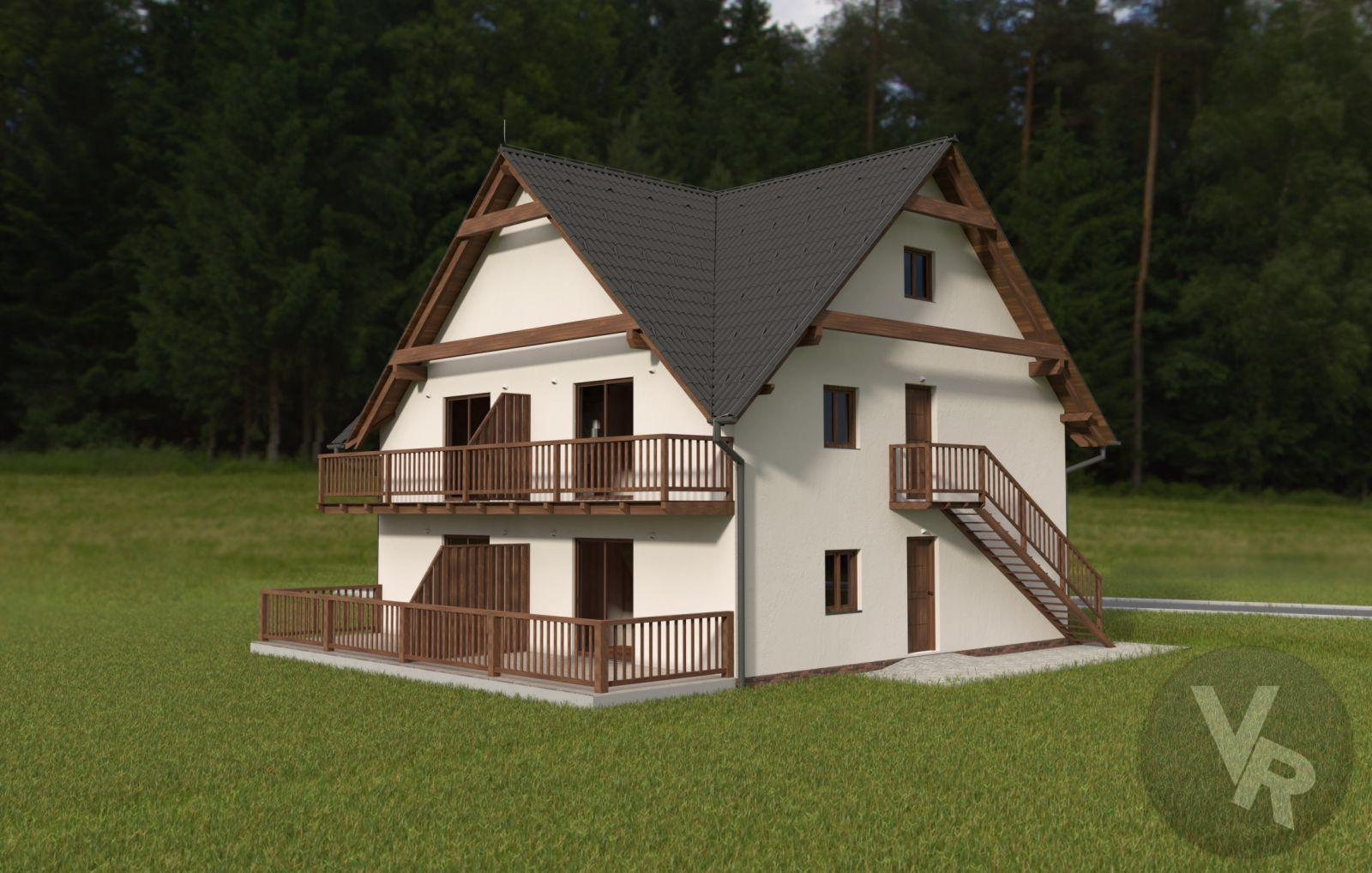 Krásný apartmán 3+kk v lokalitě Horní Václavov
