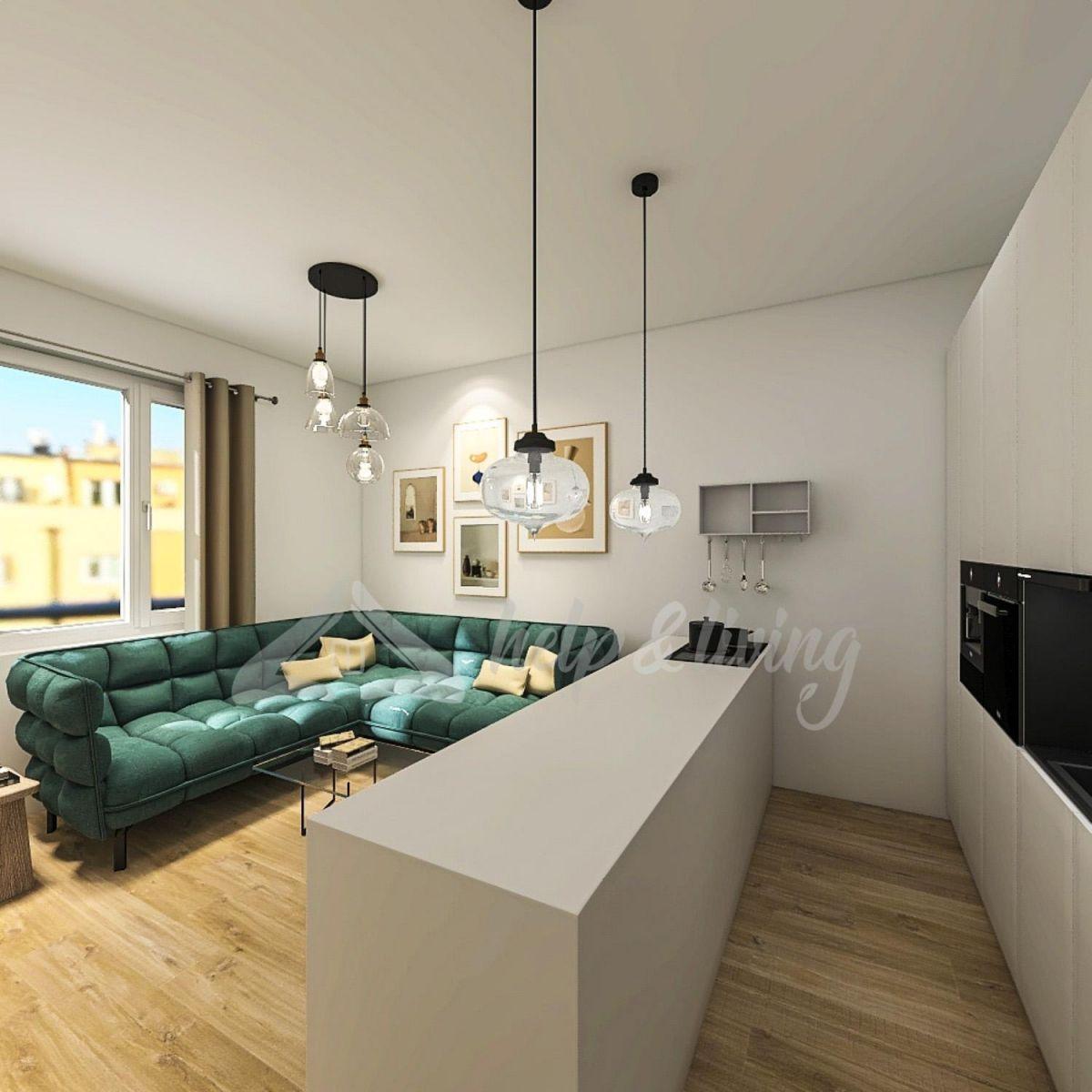 Prodej bytu 2+kk,45m2, ul. Spolupráce, Praha 4 - Nusle