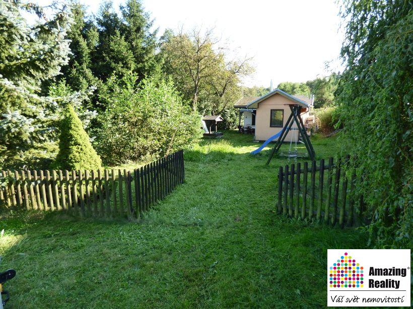 Prodej zahrady s domem v obci Vilémov, okr. Havlíčkův Brod