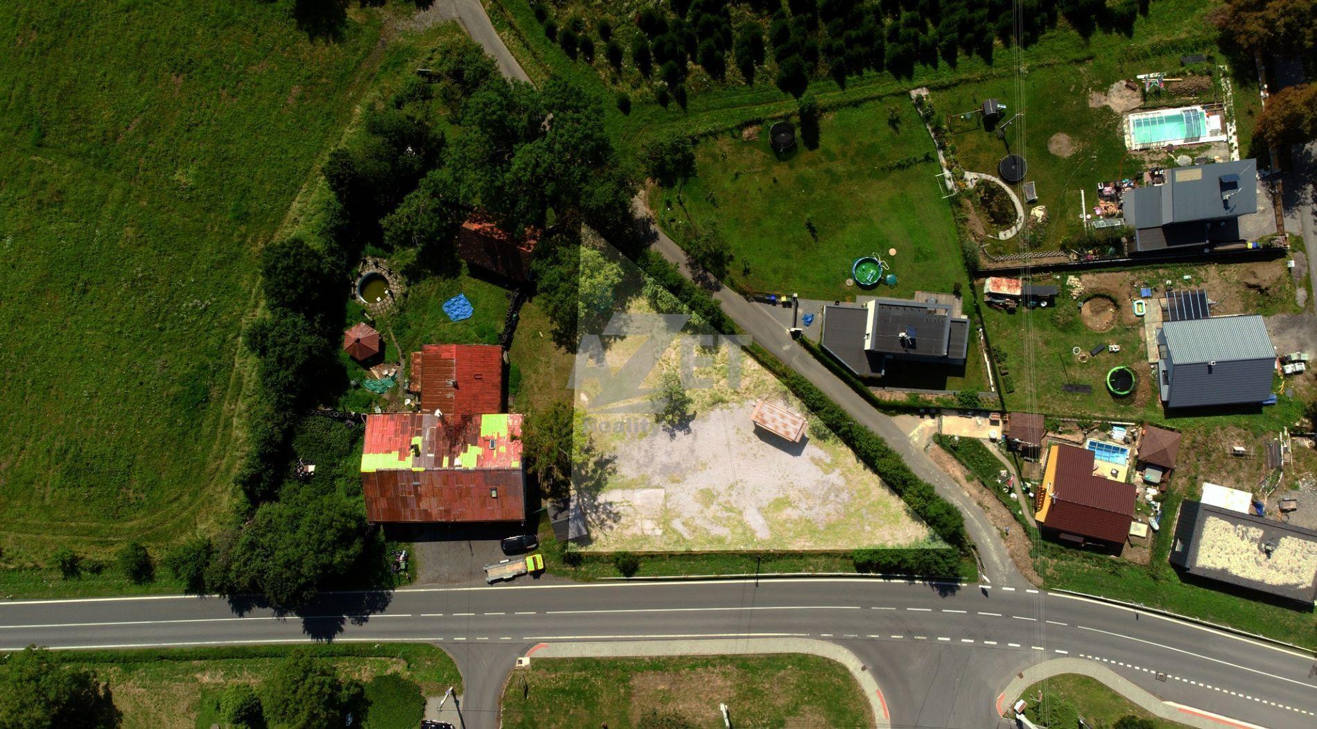 Prodej, pozemek, 1096 m2, Horní Těrlicko