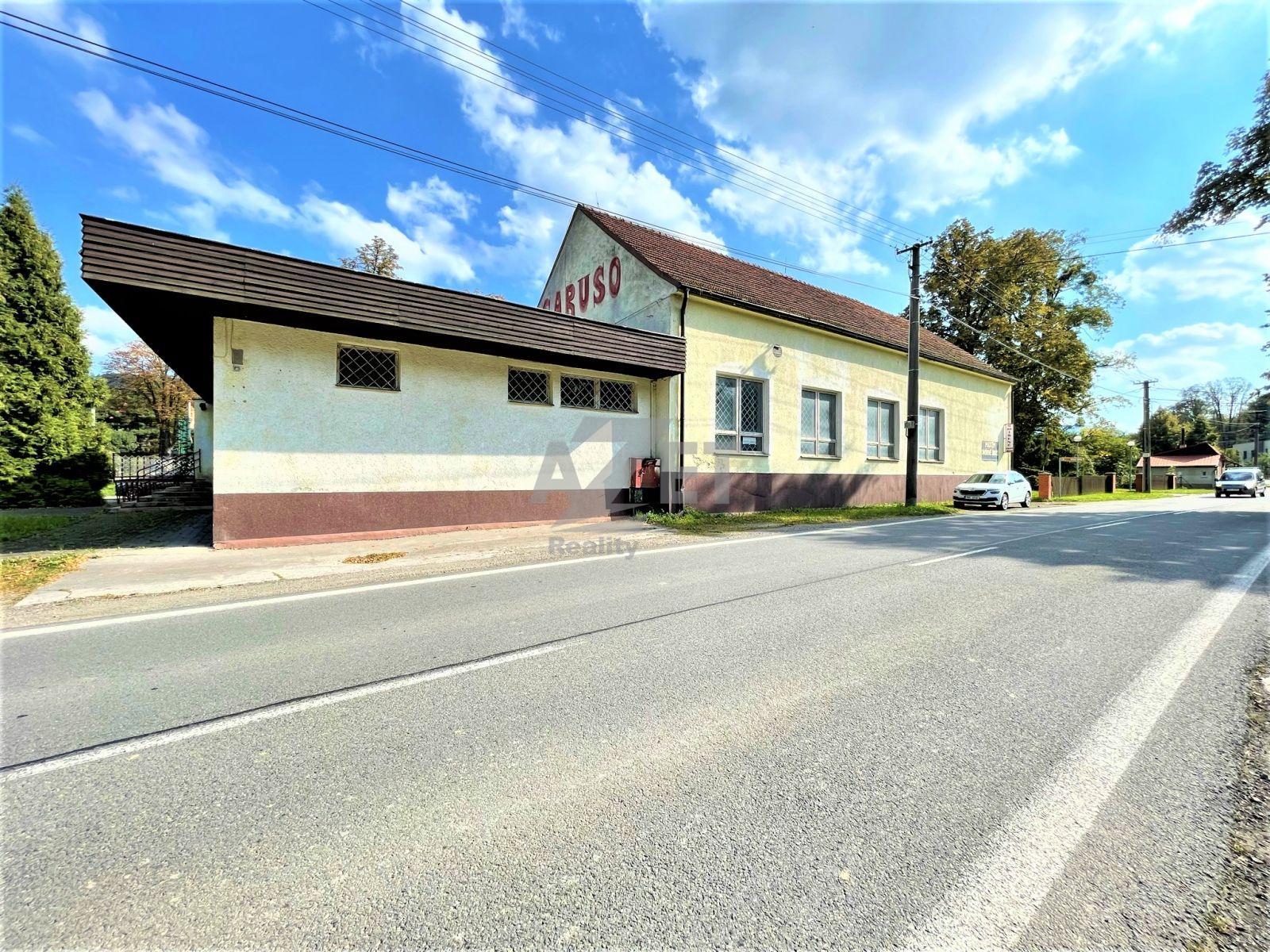 Prodej, komerční nemovitost, 900 m2, Rychaltice, Hukvaldy