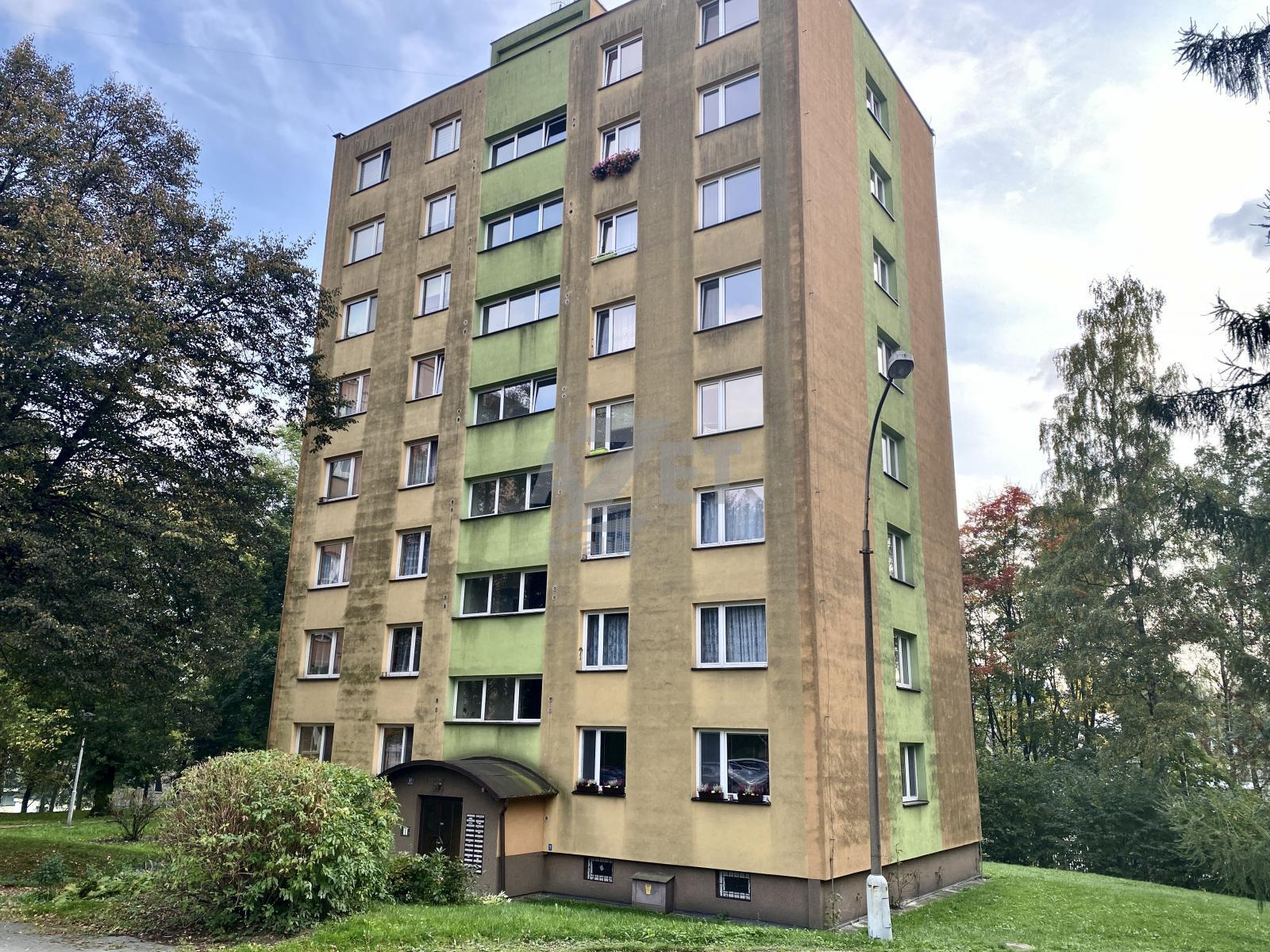 Prodej, byt 3+1, 55 m2, Orlová - Lutyně, ul. Kpt. Jaroše
