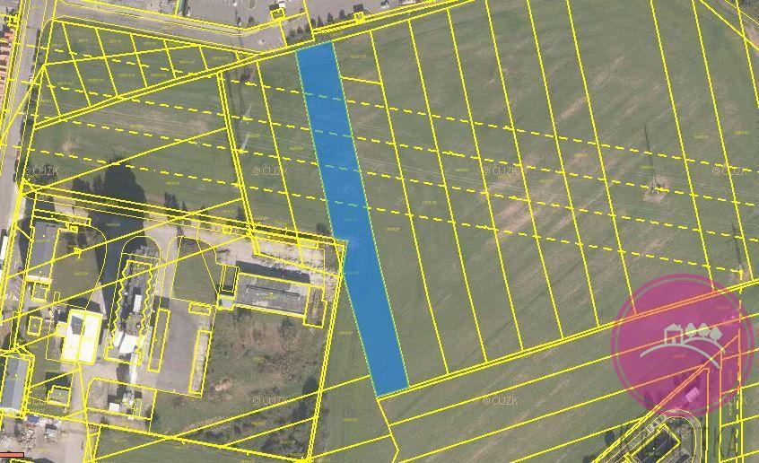 Prodej pozemku ke komerční výstavbě o výměře 4588 m2 v Olomouci Holici