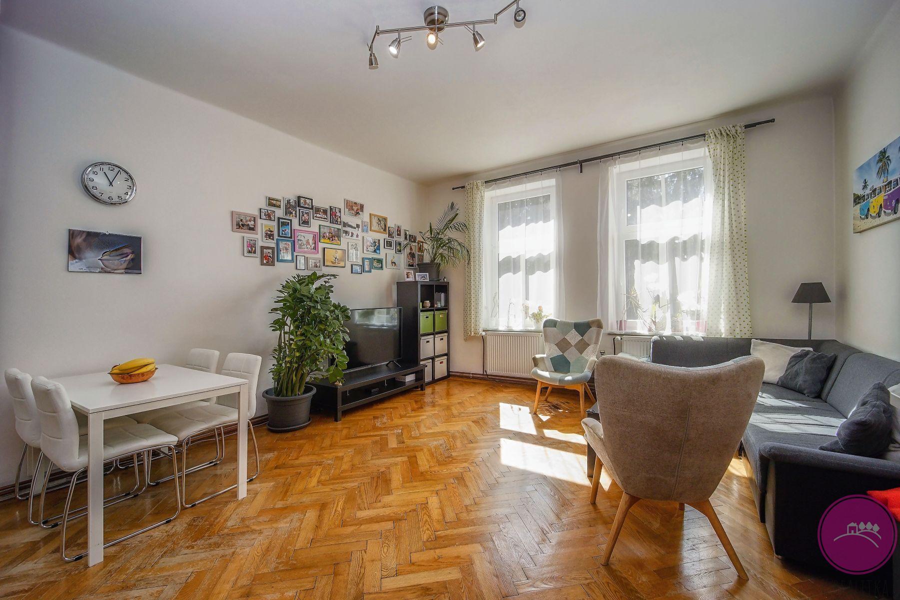 Prodej krásného bytu 4+kk v prvorepublikové vile na ulici Mozartova v Olomouci