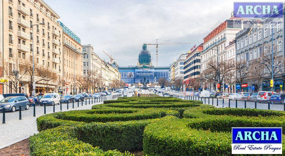 Nájem obchodních ploch 493 m2, 2. patro, Václavské náměstí, PRAHA 1