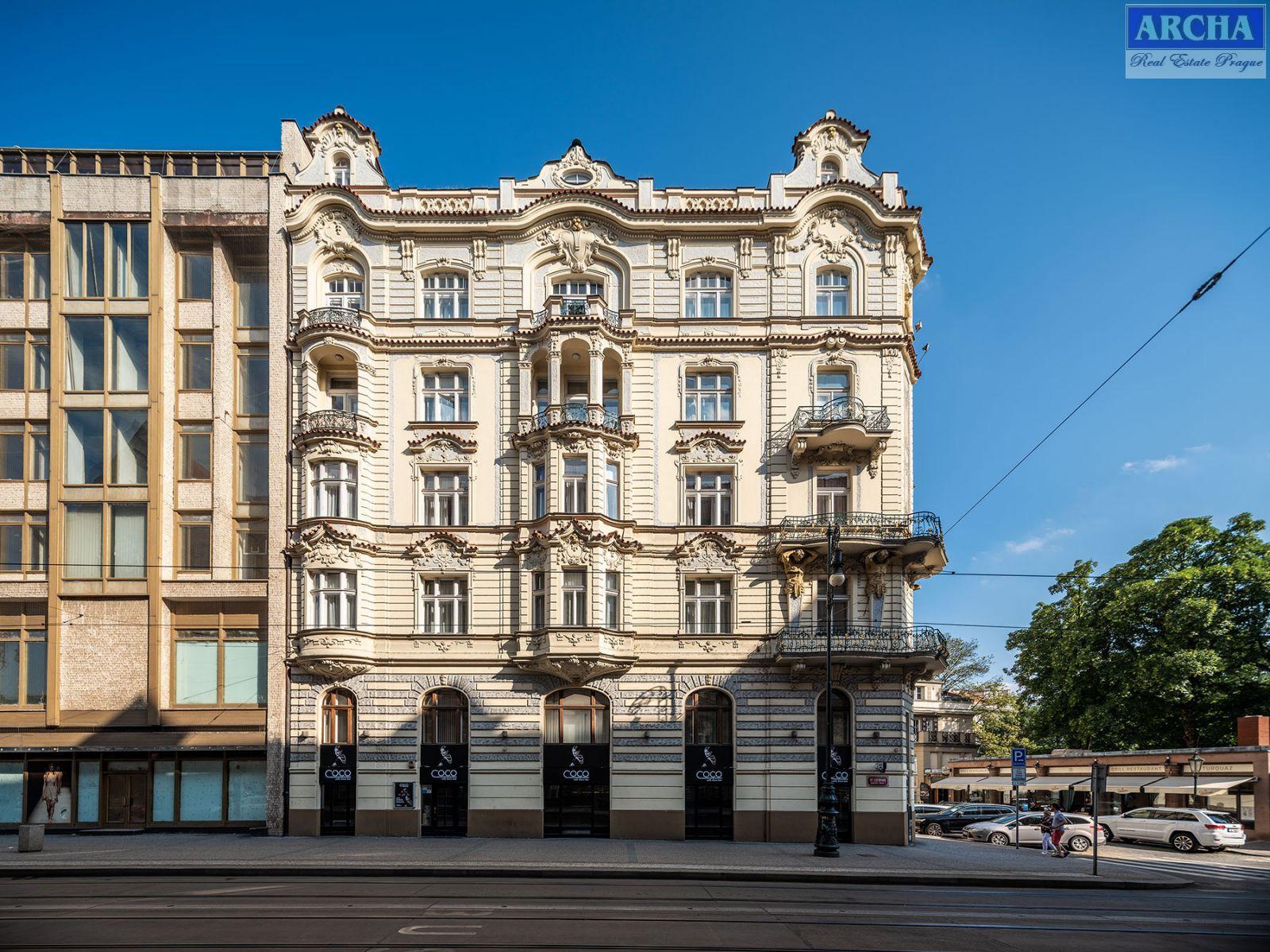 Nájem nebytového prostoru 213 m2, přízemí, Břehova, Praha 1 Centrum