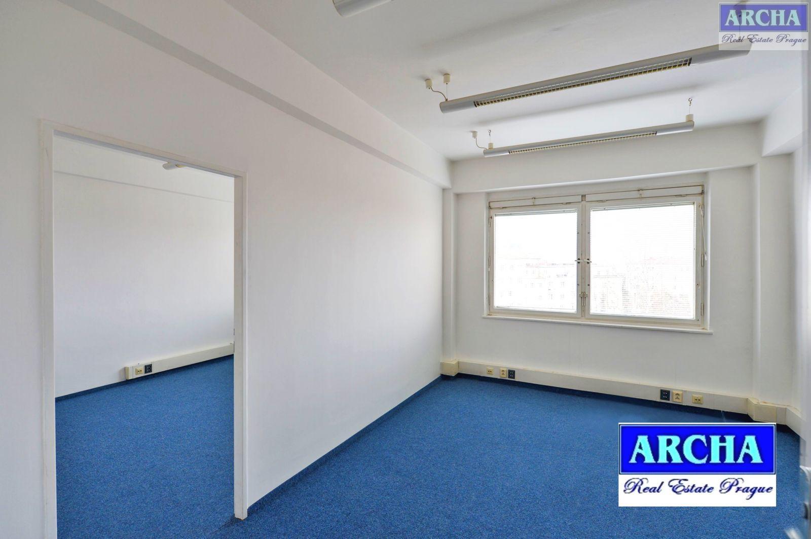 Nájem kanceláří od 56 m2 více, Litevská, Praha 10