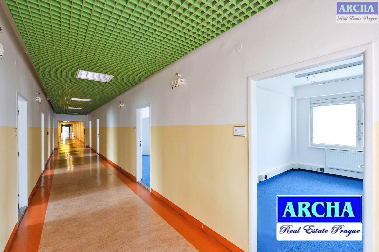 Nájem kanceláří 150 m2, Litevská, Praha 10