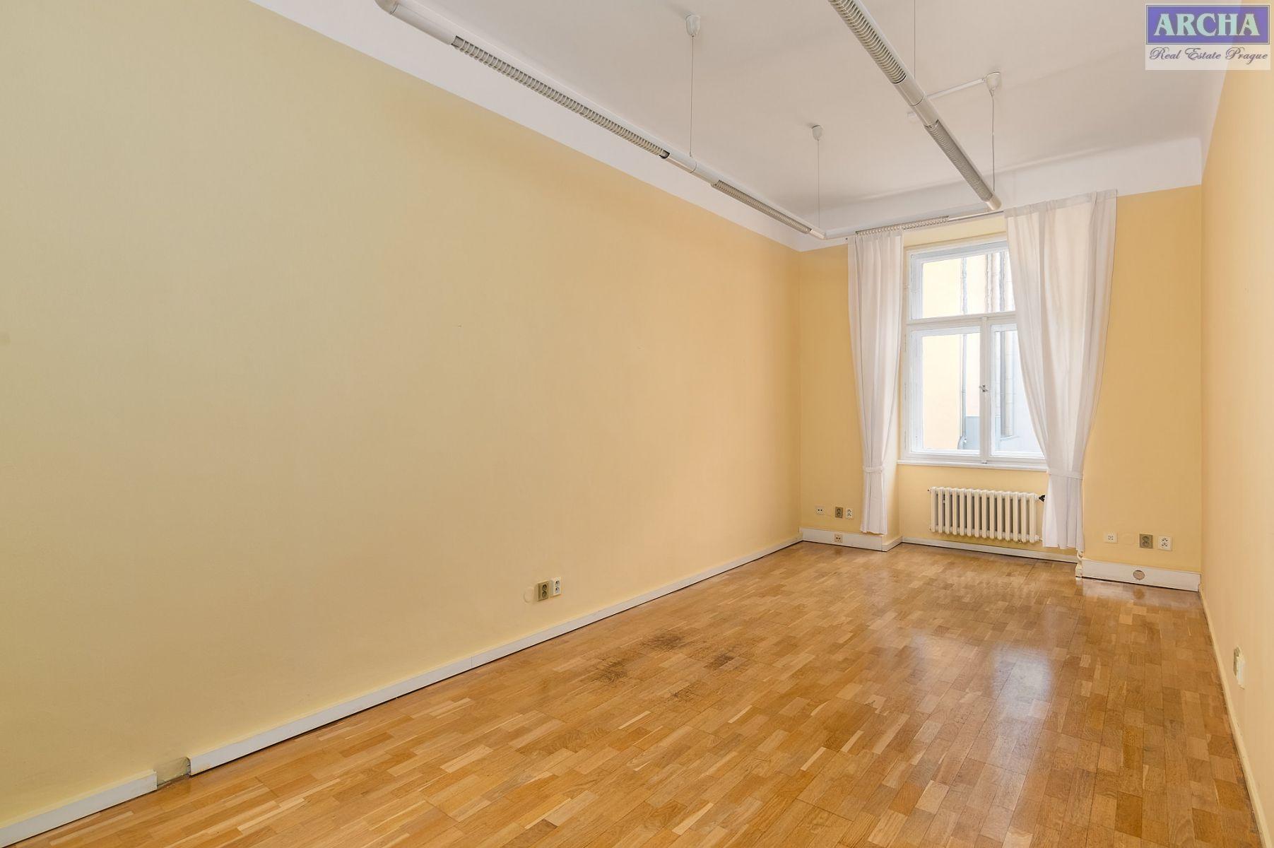 Nájem  kanceláří 72,6 m2, 4. patro, Malá Štěpánská, Praha 2 Nové Město