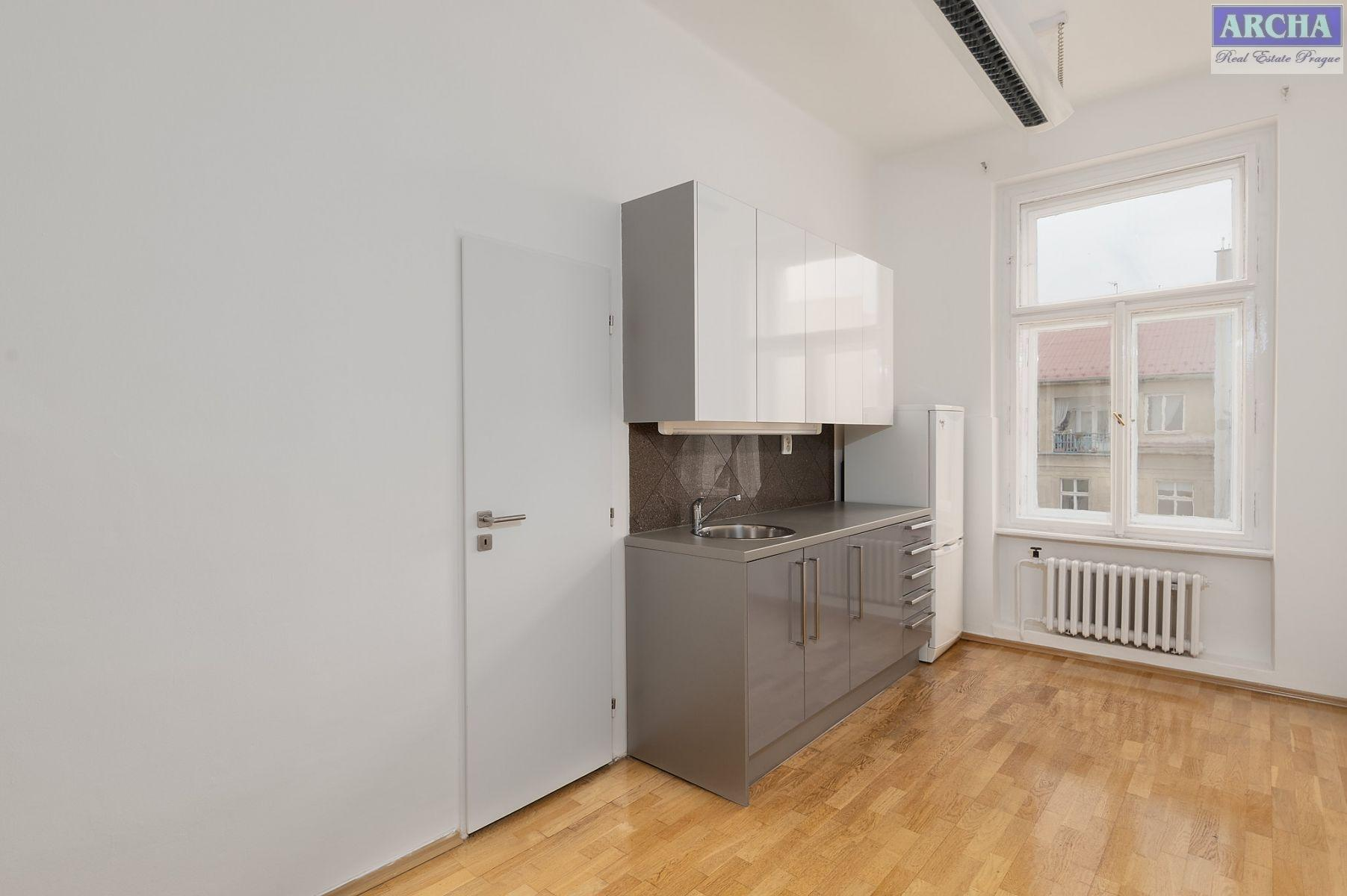 Nájem  kanceláří 74 m2, 1. patro, Malá Štěpánská, Praha 2 Nové Město
