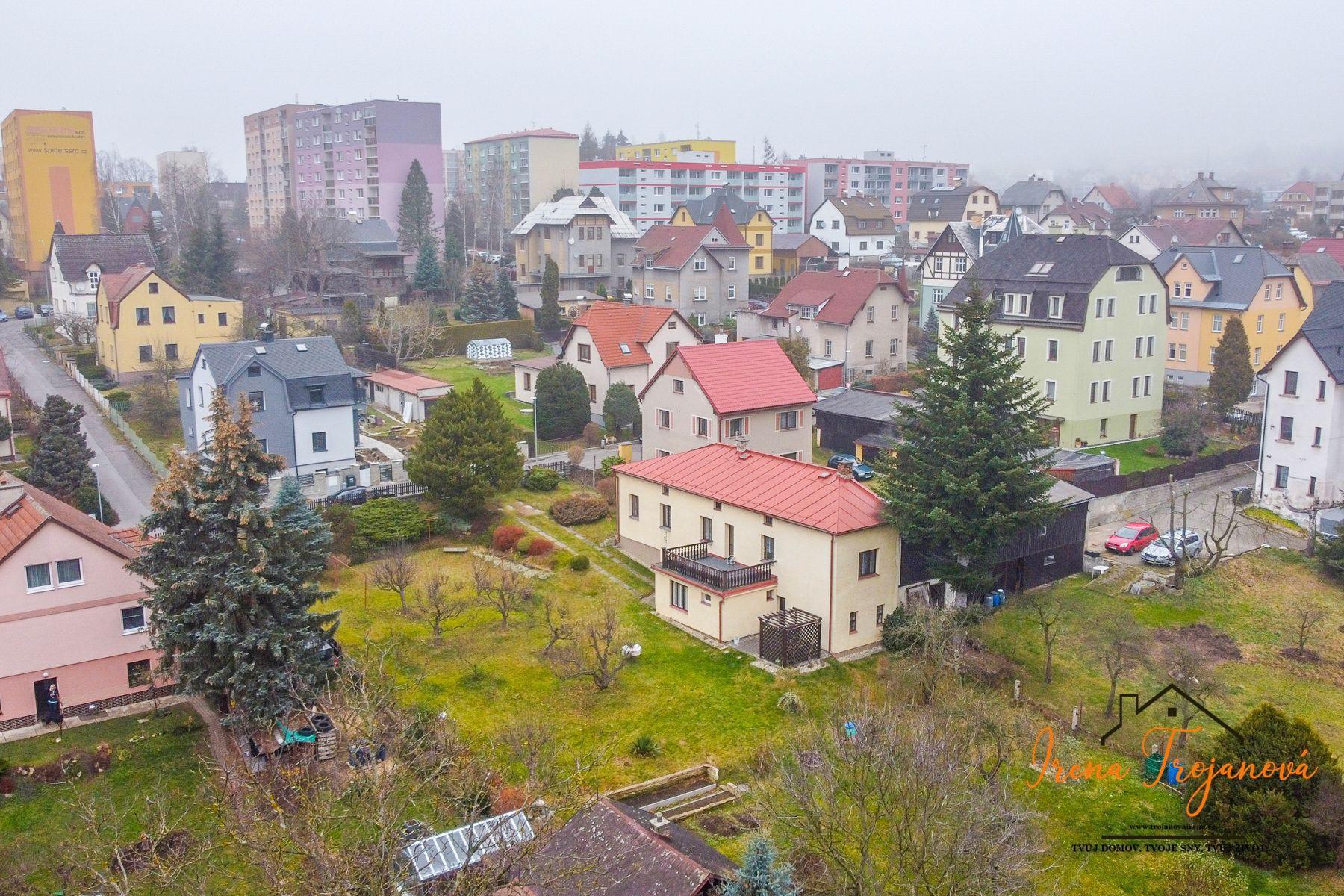 RD 4+1/Terasa 212 m2. Pozemek 1443 m2. Liberec - Staré Pavlovice.