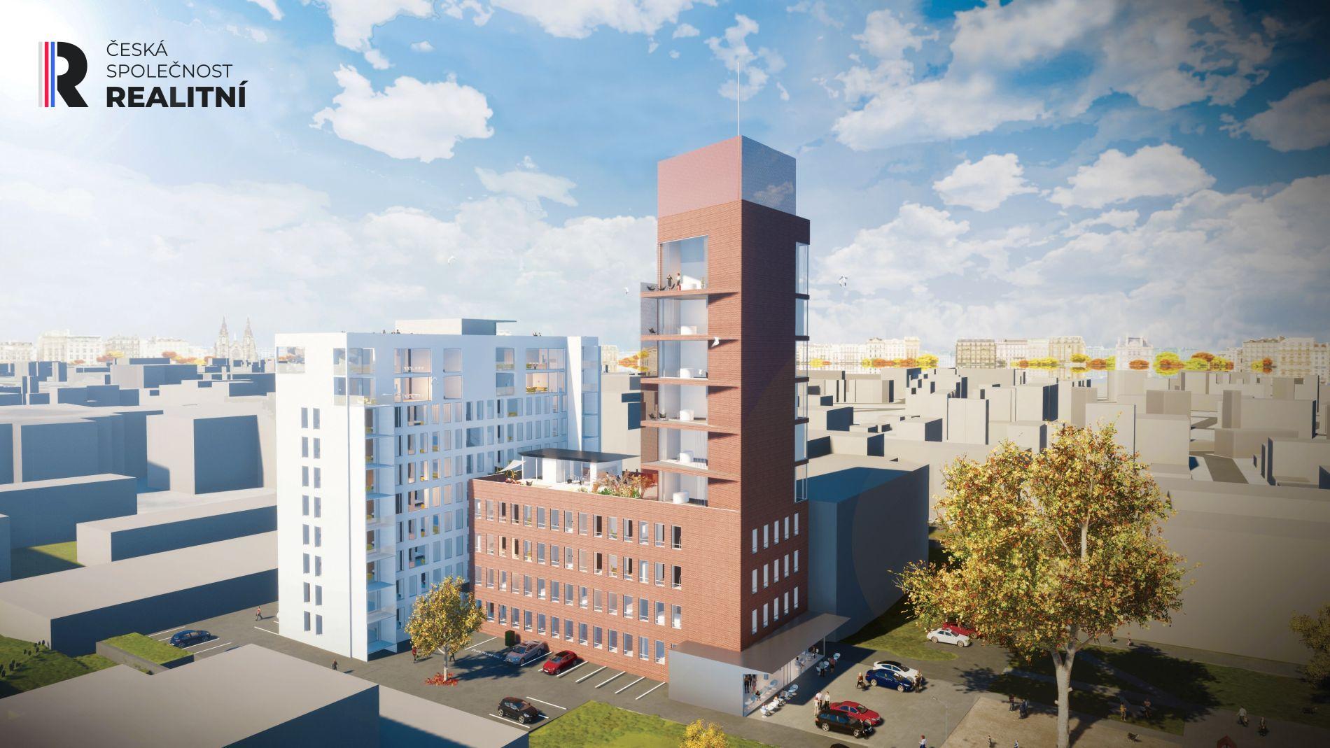 Prodej, Byt 2+kk, 53,20 m2, Zlín - Lorencova ul.