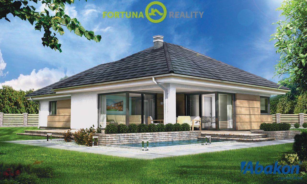 Prodej rodinného domu z keramzitových bloků - zastavěná plocha 145 m2