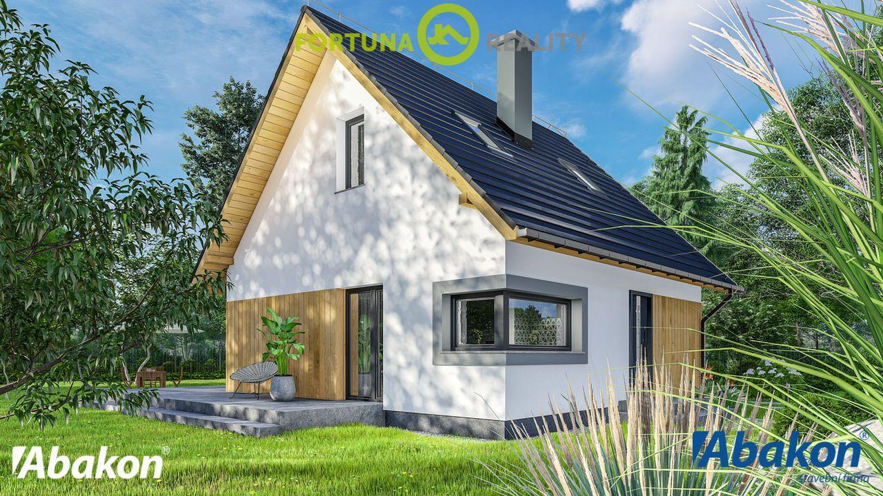 Prodej rodinného domu z keramzitových bloků - zastavěná plocha 98 m2