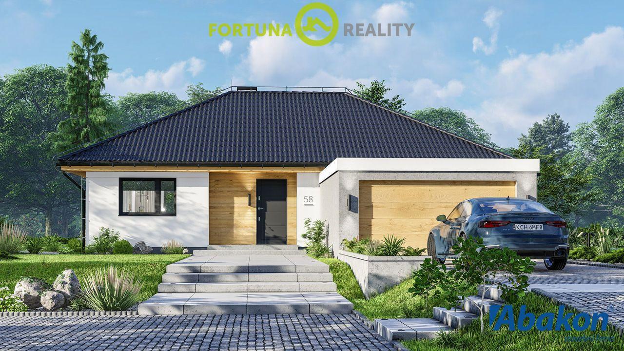 Prodej rodinného domu z keramzitových bloků - zastavěná plocha 153 m2 s garáží