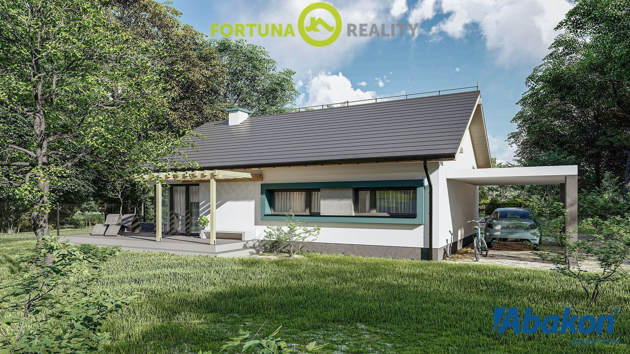 Prodej rodinného domu z keramzitových bloků - zastavěná plocha 102 m2