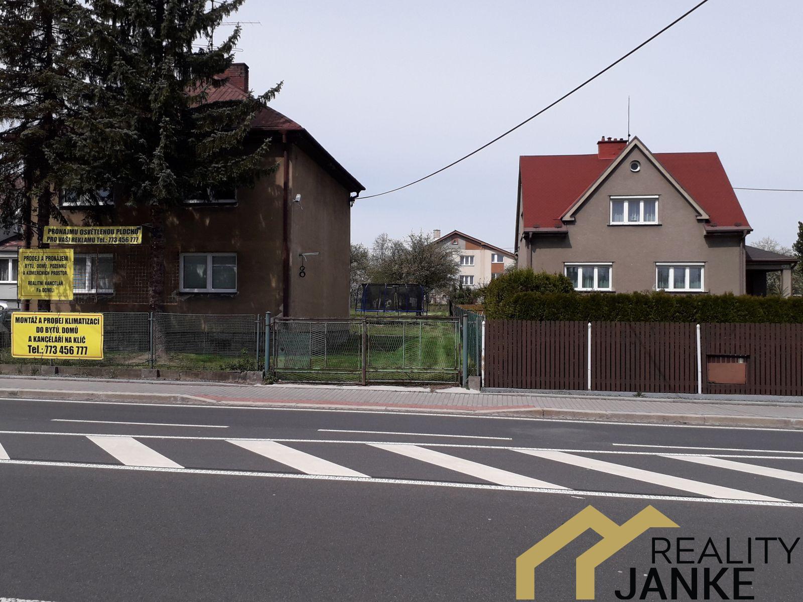Pronájem pozemku 200 m2, ul Ostravská Petřvald u Karviné