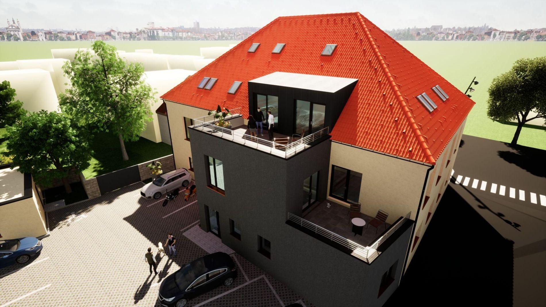 Prodej nemovitosti a developerského projektu výstavby bytového domu v Rokycanech - Borek.