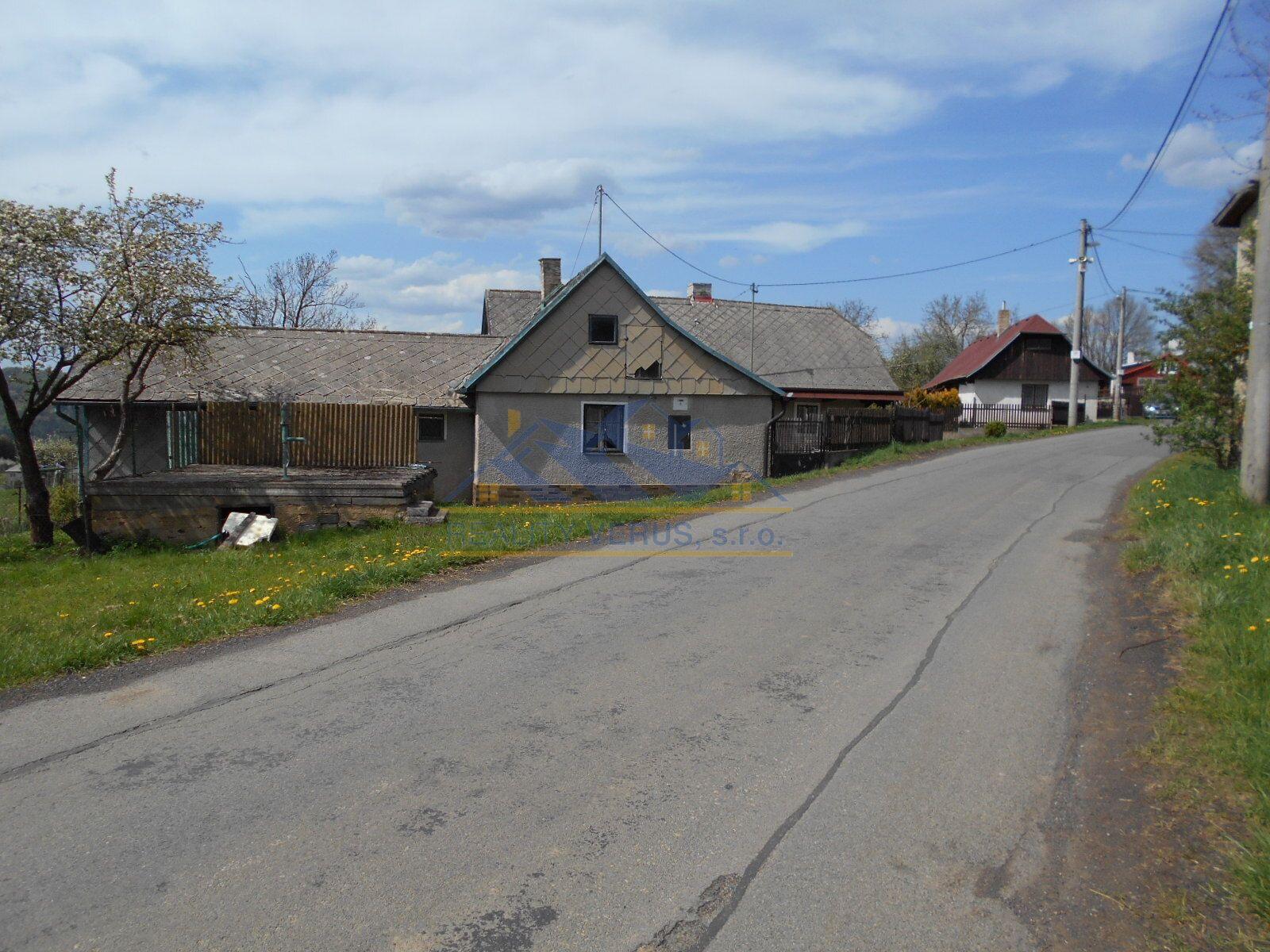 Prodej chalupy  70 m, pozemek 436 m Zaječov - Kvaň, okres Beroun