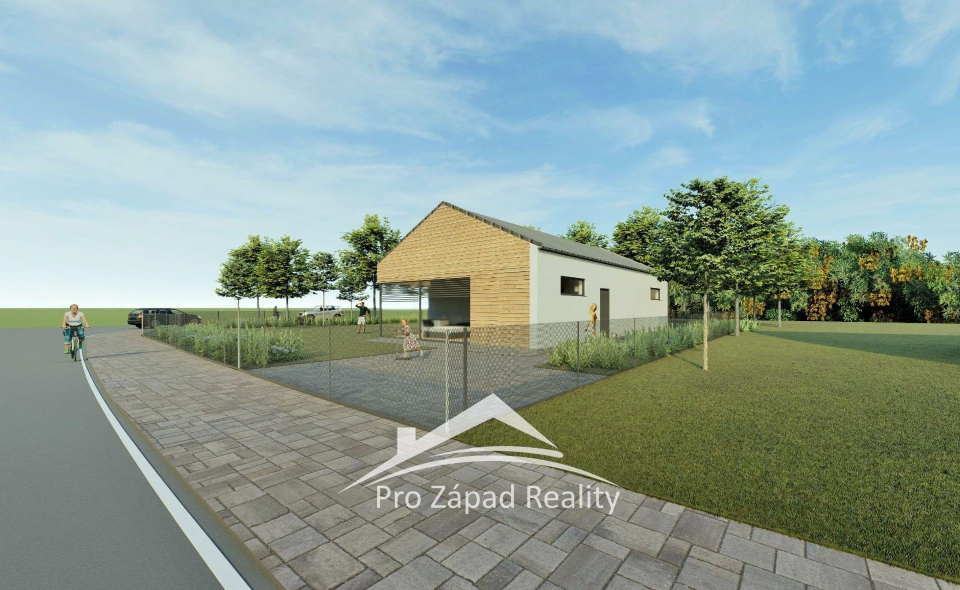 Prodej  pozemků pro bydlení, 816 m2 + dvě parkovací stání, Klatovy - Štěpánovice