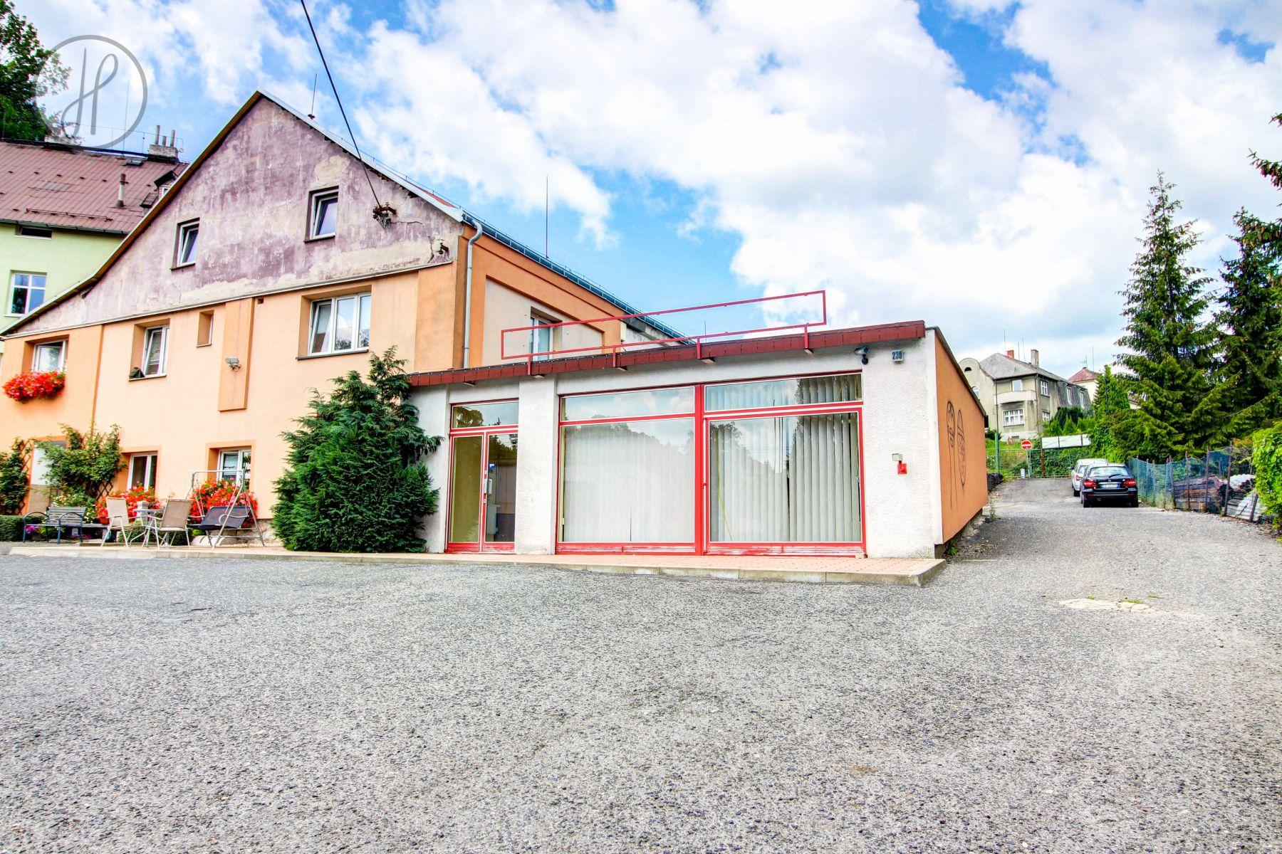 Pronájem obchodního prostoru, 62 m2, Liberec XI-