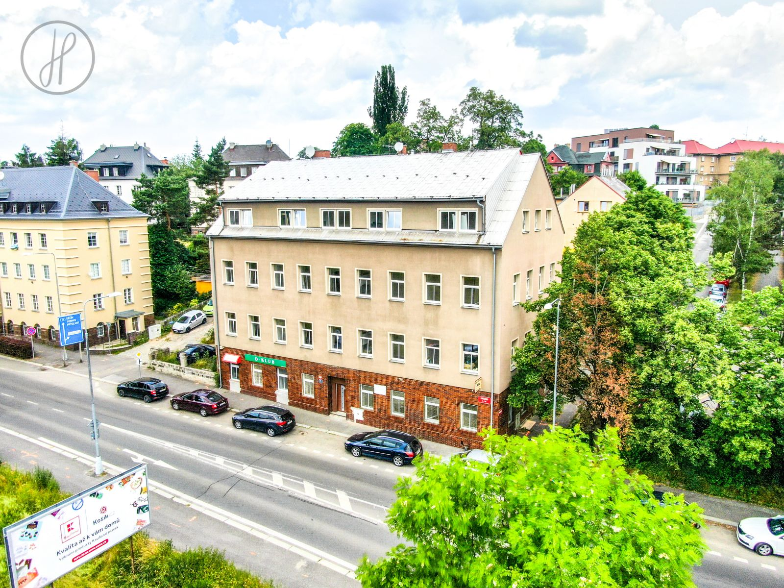 Pronájem bytu 2+kk, 41 m2, Liberec I-Staré Město