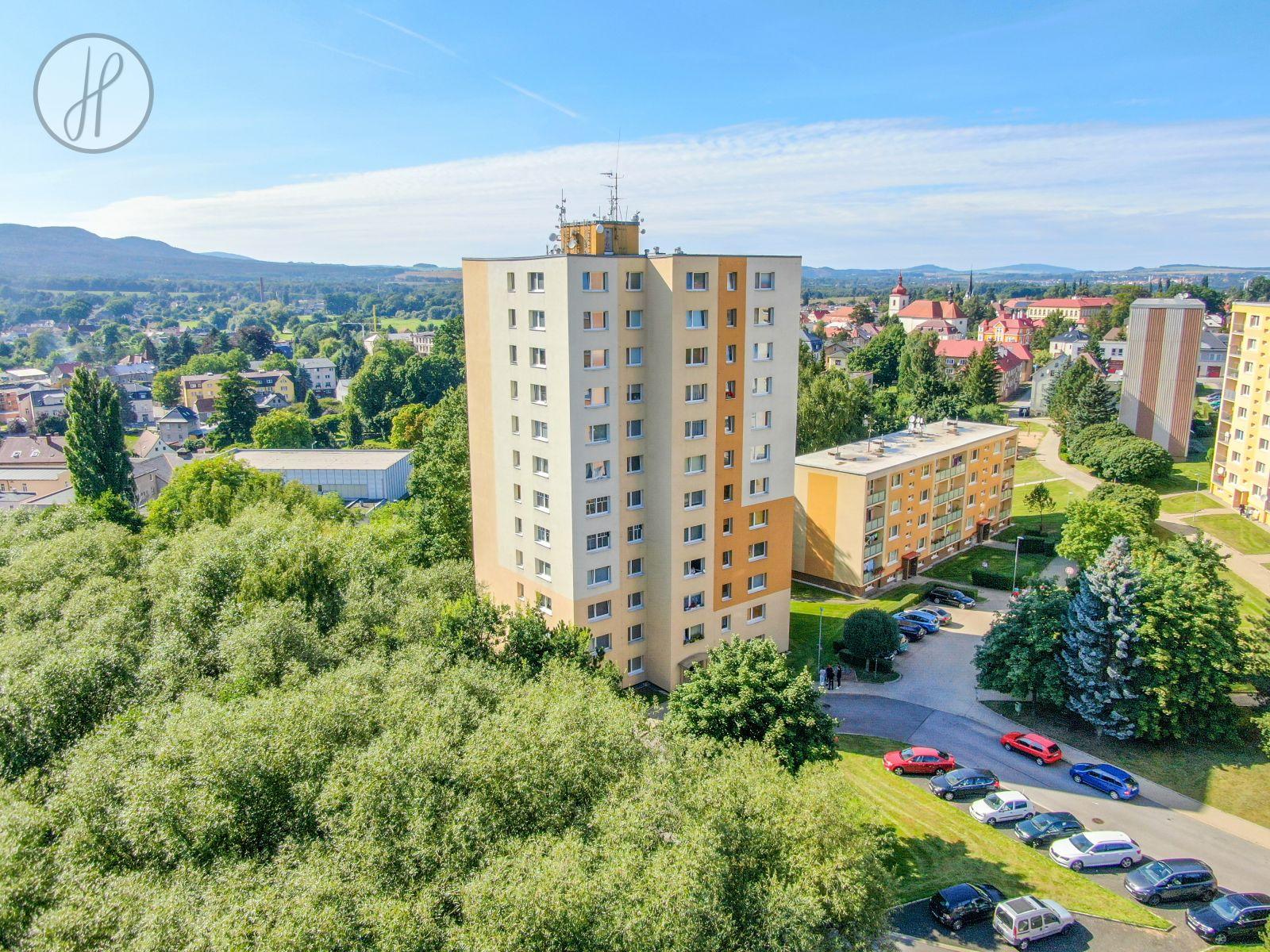Prodej bytu 1+1, 39 m2, Hrádek nad Nisou
