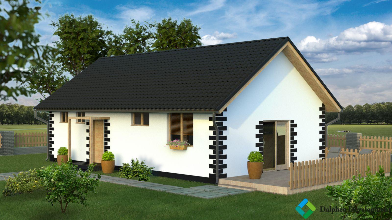 Prodej rodinného domu 3+kk, 59 m2, pozemek 364 m2