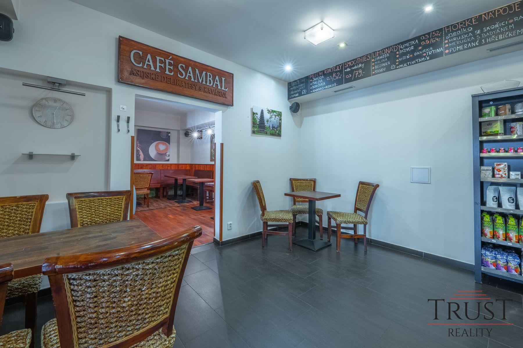 Pronájem kavárny - prodej společnosti