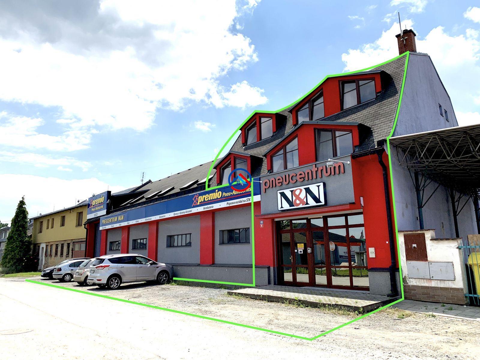Pronájem obchodních prostor 268 m2, Olomouc - Holice