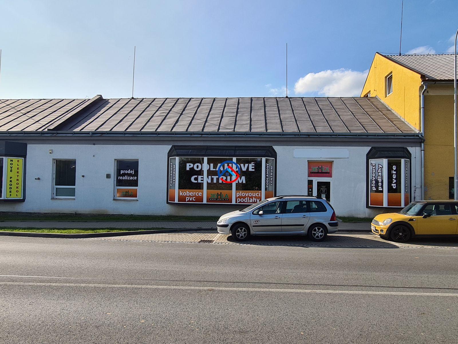 Pronájem obchodních prostor v Šumperku o výměře 250 m2