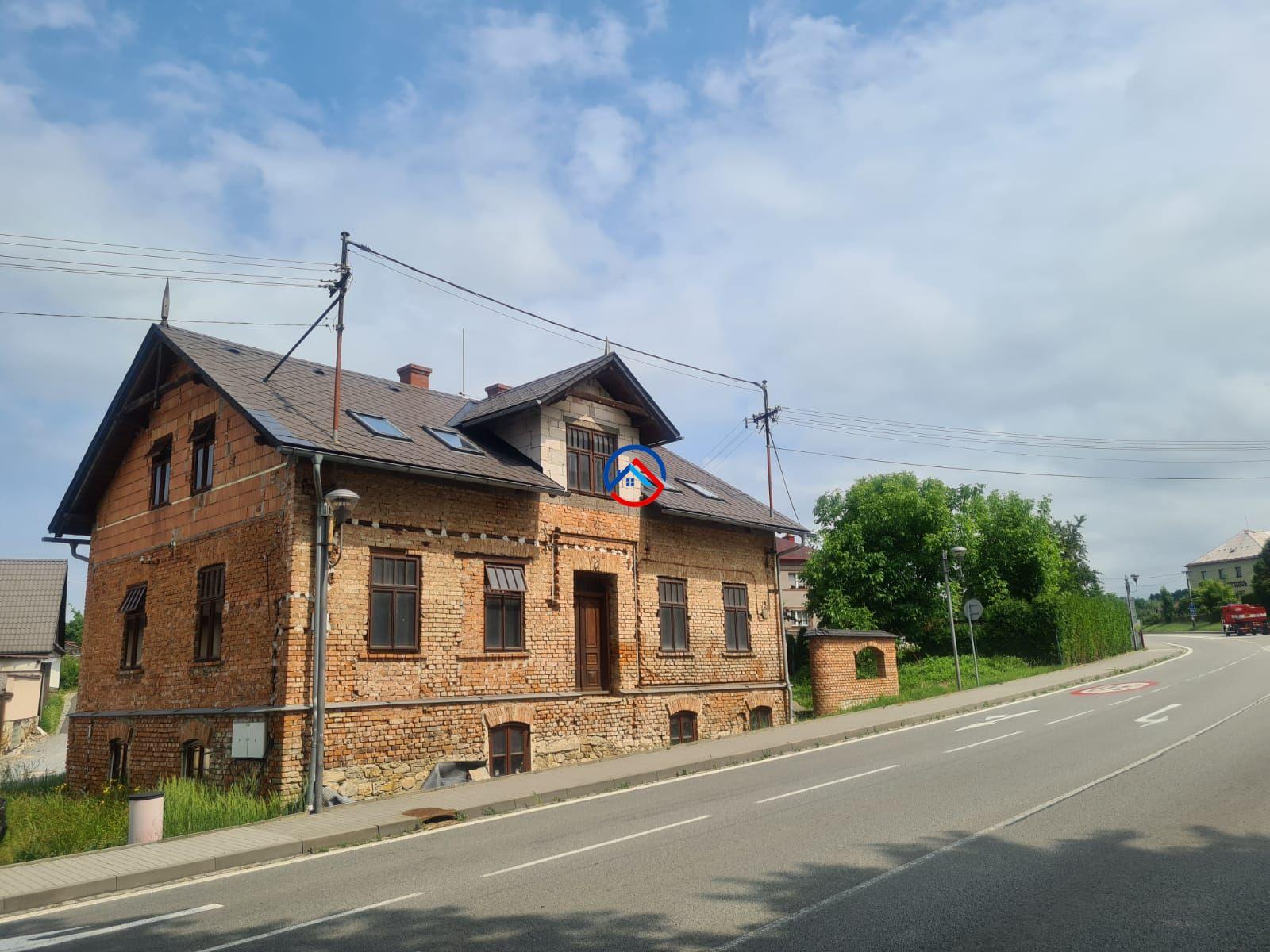 Prodej  domu na investici v Bludově