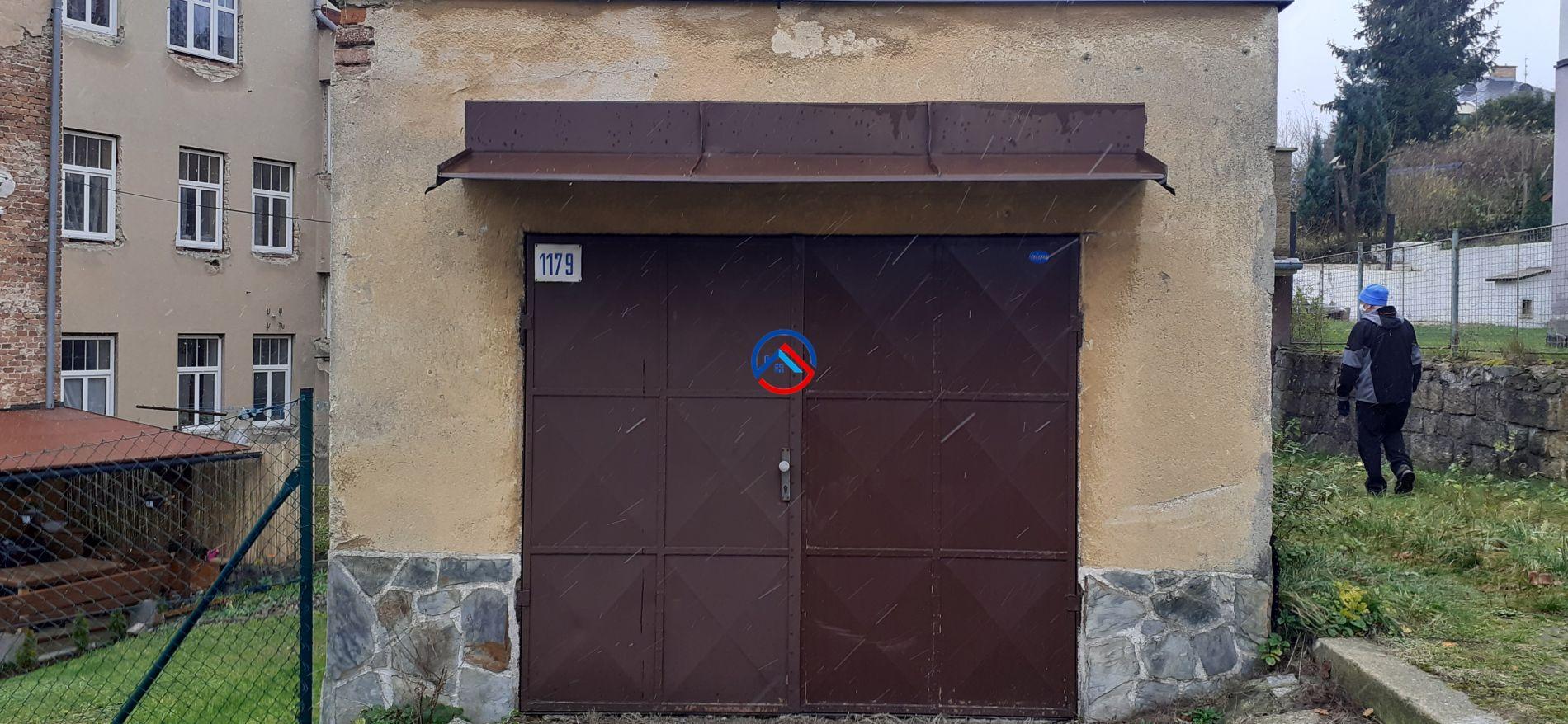 Prodej zděné garáže Jablonec nad Nisou