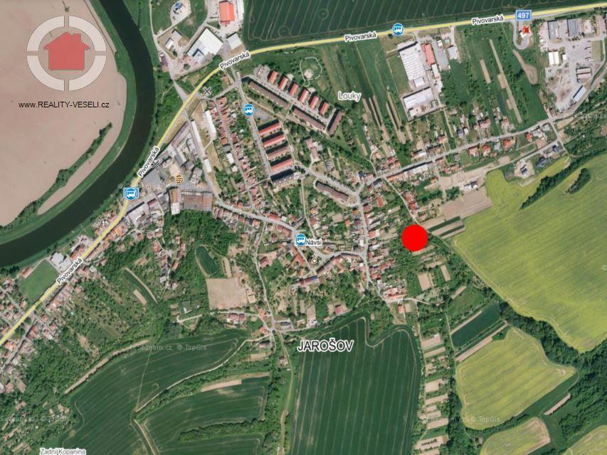 Prodej stavebního pozemku v Uh.Hradišti, 1228 m2