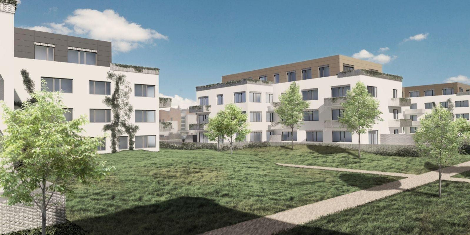 Komerční prostor, 81.4 m2, Horoměřice, Projekt Višnovka - bytové domy