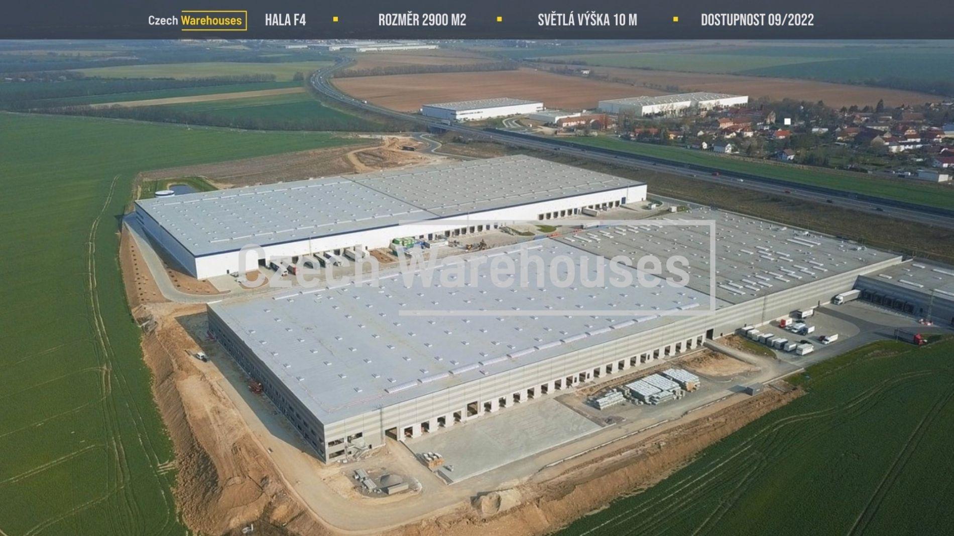 Pronájem skladových prostor, 2900 m2, Pavlov