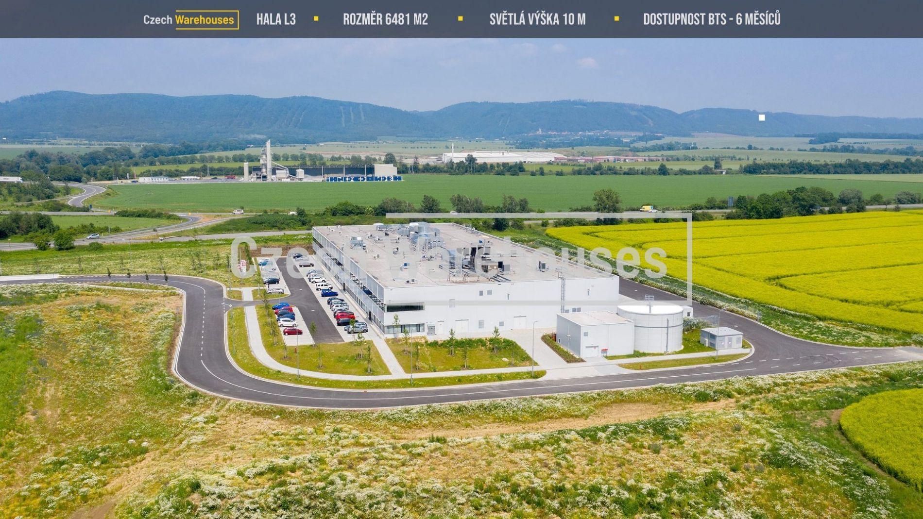 Pronájem skladových prostor, 6481 m2, Lipník nad Bečvou
