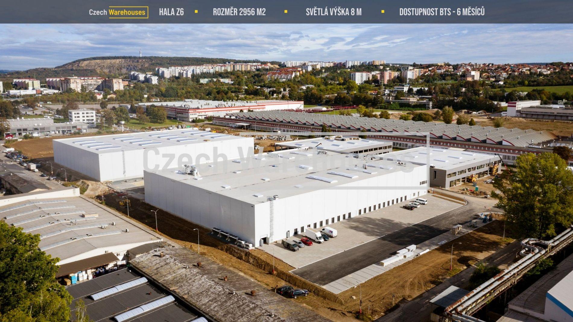 Pronájem skladových prostor, 2956 m2, Brno