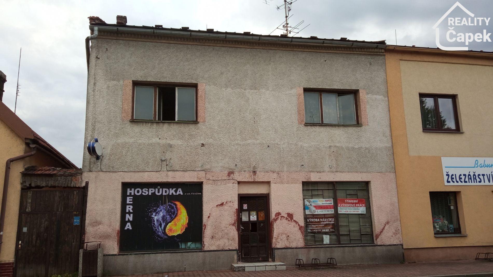 Prodej domu na náměstí, Paskov