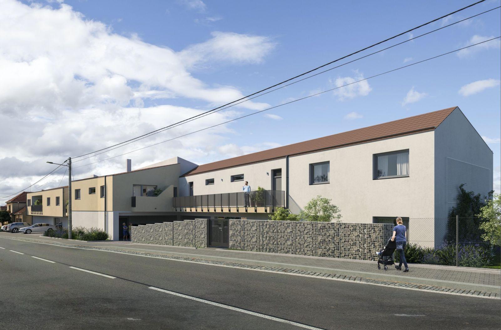 Nabízíme k prodeji byt 3+KK v novostavbě bytového domu v obci Domašov