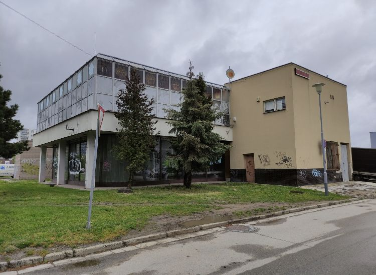 Nabízíme k prodeji komerční budovu na ulici Jírova v Brně Líšni