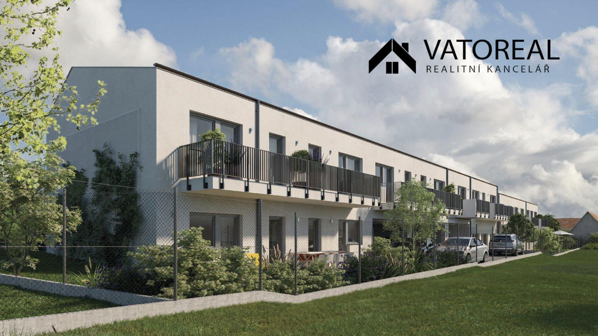 Nabízíme k prodeji byt 2+KK, v novostavbě bytového domu v obci Domašov