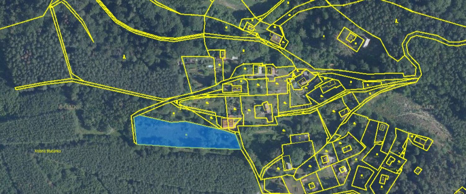 Prodej pozemek 3158 M2, Rašovice u Kalovic, okres Litoměřice