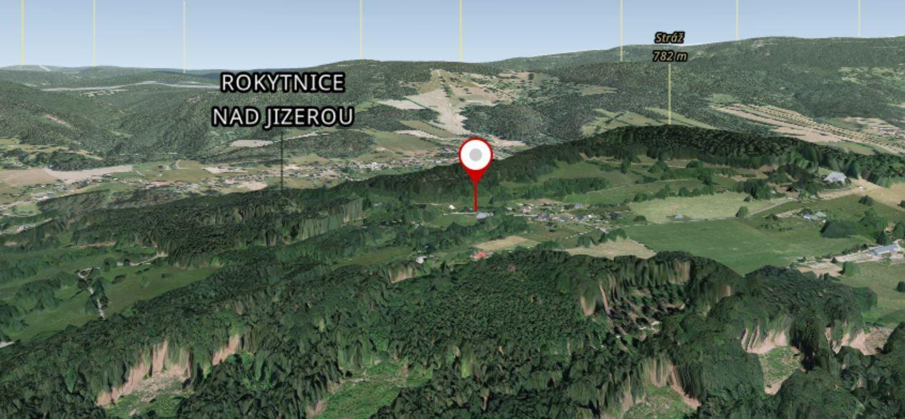 Pozemek o výměře 886 m2, Jablonec nad Jizerou