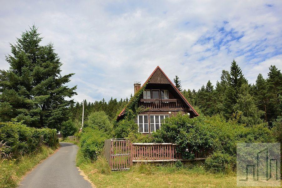 Chata v Černavě v Krušných horách
